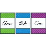 Carson-Dellosa Cursive Alphabet Bulletin Board Set