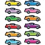 Carson-Dellosa Race Cars Shape Stickers