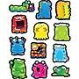 Carson-Dellosa Monsters Shape Stickers