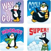 Carson-Dellosa Penguins Motivational Stickers