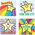 Carson-Dellosa Stars Motivational Stickers, Kid Drawn, All Grades