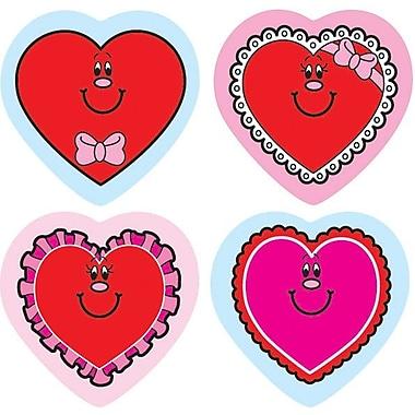 Carson-Dellosa Valentine Hearts Shape Stickers