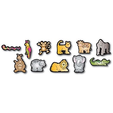 D.J. Inkers Zoo Friends Shape Stickers