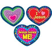 Carson-Dellosa Jesus Loves Me! Shape Stickers, 90 stickers per pack