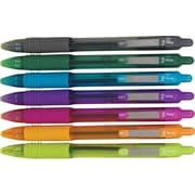 Zebra® Z-Grip™ Retractable Ballpoint Pens, Medium Point, Assorted, 7/Pack