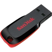 SanDisk Cruzer Blade 16GB USB 2.0 Flash Drive, Black (SDCZ50-016G-B35)