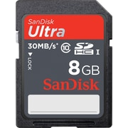 SanDisk 8GB Ultra SD (SDHC UHS-I) Card Class 10 Flash Memory Card