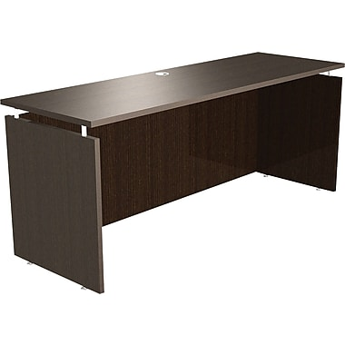 Alera® SedinaAG Woodgrain Laminate Top Credenza Shell, 72in.W, Espresso