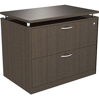 Alera® SedinaAG 22in.D 2 Drawer Lateral File, Espresso