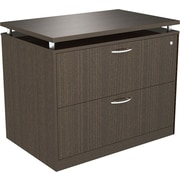 "Alera® SedinaAG 22""D 2 Drawer Lateral File, Espresso"