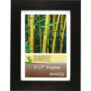 NuDell Black Bamboo Frame, Bamboo, 5 x 7, Black, Each (14157)