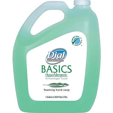Dial Basics Foaming Handwash Soap, Fresh, 1 gal