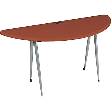 BALT ® iFlex Series 29in.H x 62in.W x 24in.D Full Table, Cherry/Silver