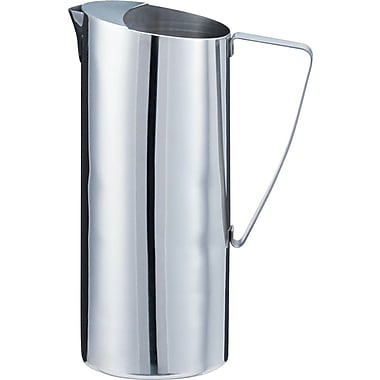 Miller's Creek Stainless Steel Pitcher, 2 qt, 4in. (Dia) x 10in.(H), Chrome