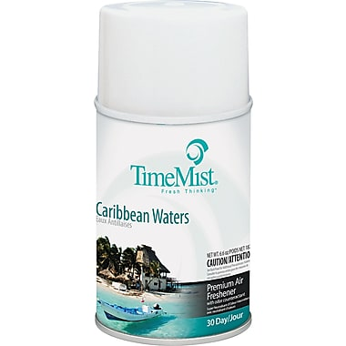 TimeMist® Metered Fragrance Dispenser Refill, Caribbean Waters, 5.3 oz. Aerosol Can