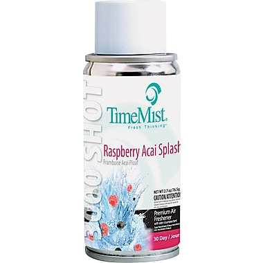 TimeMist® Micro Ultra Concentrated Metered Air Freshener Refill, Raspberry Acai Splash, 3 oz.