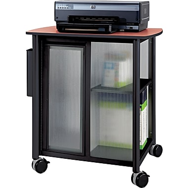 Safco® Impromptu® 26 1/2in.H x 25 1/4in.W x 17 1/4in.D Personal Mobile Storage Center, Black