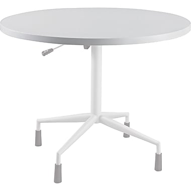 Safco® RSVP Table Top, Gray, 42in.(Dia) x 1in.T
