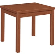 HON® Laminate Occasional Table, Henna Cherry, 20H x 24W x 20 D