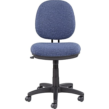 Alera ALEIN4821 Interval Acrylic Armless Task Chair, Marine Blue