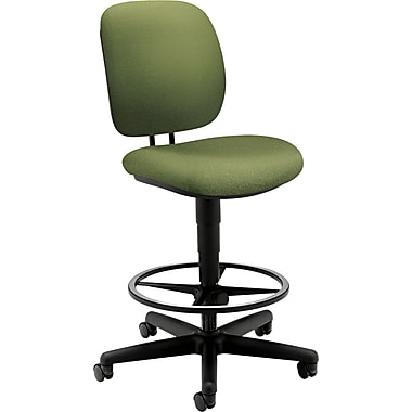 HON® ComforTask® Task Stool With Adjustable Footring, Clover