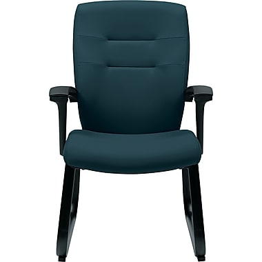 Global Synopsis™ 32% Polyester/68% Olefin Guest Arm Chair, Sapphire
