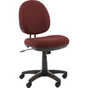 Alera ALEIN4831 Interval Acrylic Armless Task Chair, Burgundy