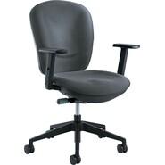 Safco  Rae Synchro-Tilt Task Chair, Charcoal