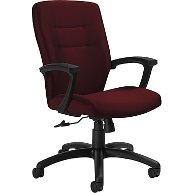 Global Synopsis™ 32% Polyester, 68% Olefin Medium Back Tilter Chairs