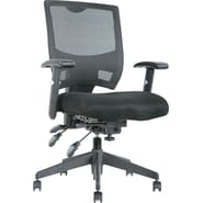 Alera® Epoch High-Performance Mesh Multifunction Chair, Black