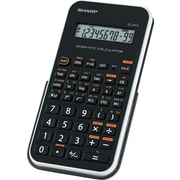Sharp EL501XBWH Engineering/Scientific Calculator, 10 Digit, (EL501XBWH)