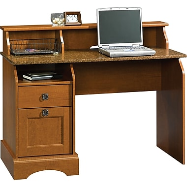 Sauder Graham Hill Desk, Coach Cherry
