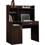 Sauder Computer Desk with Hutch, Cinnamon Cherry (413084)