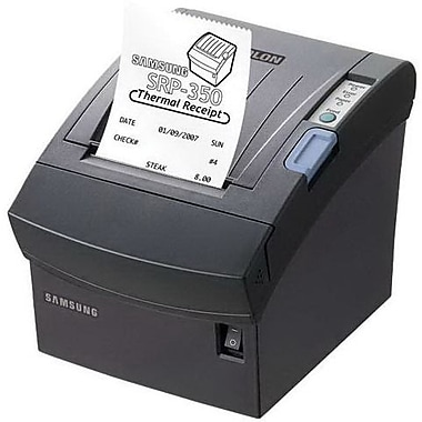 BIXOLON® SRP-350II Black 180 dpi 200 mm/sec USB Direct Thermal Receipt Printer