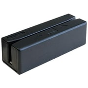 Unitech Black Triple Track USB 5-50 in/sec Magnetic Card Reader
