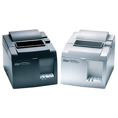 star® TSP143L Gray 203 dpi 22 Receipt/min Direct Line Thermal TSP100 futurePRNT Receipt Printer