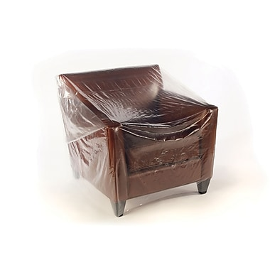 Clear Furniture Bags 70in. Loveseat, 106x45