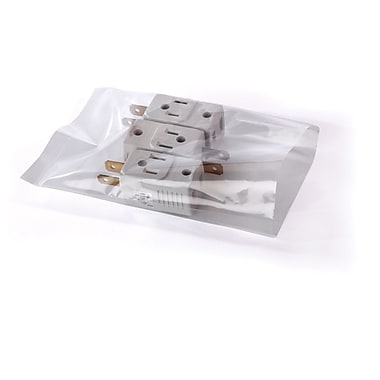 Clear Lay Flat Poly Bags 2 mil, 3x8