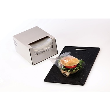 Clear Sandwich Bags in Dispenser Box 0.75 mil, 7x7