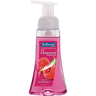 Softsoap® Pampered Hands™ Foaming Hand Soap, Raspberry, 8 oz.