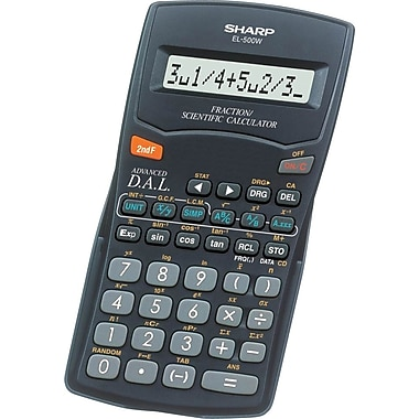 Sharp EL500WBBK 10 Digit Calculator