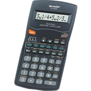 Sharp® EL500WBBK 10 Digit Calculator