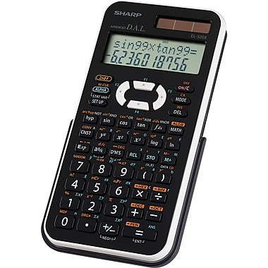 Sharp EL520XBWH 12-Digit Scientific Calculator