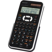 Sharp® EL520XBWH 12-Digit Scientific Calculator
