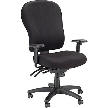 Tempur-Pedic Fabric Chair, Highback, Black
