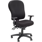 Tempur-Pedic Fabric Chair, Highback, Black