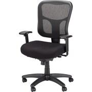 Tempur-Pedic Mesh Chair, Mid-back, Black