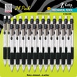 Zebra® Z-Grip™ Mechanical Pencils, .7mm, Black, 24/Pack
