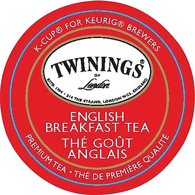 Twinings of London English Breakfast Tea K-Cup Refills
