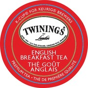 Twinings of London English Breakfast Tea K-Cup Refills